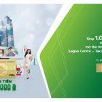 Ưu đãi khi mở thẻ tín dụng đồng thương hiệu Saigon Centre Takashimaya Vietcombank