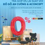 Sắm nội thất cao cấp trả góp 0% lãi suất cùng thẻ VietinBank