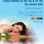 Ưu đãi đến 50% cho chủ thẻ VietinBank tại Anam QT Spa