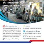 BIDV thúc đẩy sản xuất công nghiệp với sản phẩm Tài trợ doanh nghiệp công nghiệp hỗ trợ
