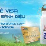 Tưng bừng World Cup 2018 với thẻ SCB Visa