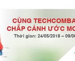 Cùng Techcombank, chắp cánh ước mơ trẻ