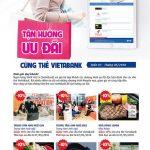 Tận hưởng ưu đãi cùng thẻ VietABank