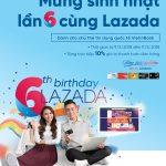Giảm 10% cho chủ thẻ VietinBank mua sắm tại Lazada