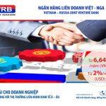 VRB cho vay ưu đãi với doanh nghiệp có quan hệ với thị trường Liên minh kinh tế Á Âu