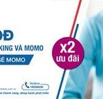 Liên kết MoMo và VRB Internet Banking nhận ngay 100.000 Đ, nhận thêm không giới hạn 100.000 Đ khi chia sẻ MoMo
