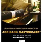 Ưu đãi hấp dẫn cùng thẻ Agribank Mastercard