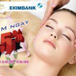 Ưu đãi dành cho chủ thẻ Eximbank tại Thẩm mỹ viện Đông Phương