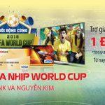 World Cup sôi động cùng thẻ HDBank