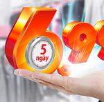 5 ngày duyệt nhanh, lãi siêu cạnh tranh 6.99% cùng Maritime Bank