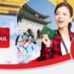 Ưu đãi tỷ giá, khám phá Seoul khi mua bán ngoại tệ với Maritime Bank