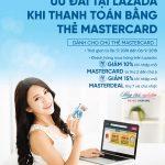 Ưu đãi hấp dẫn cho chủ thẻ MasterCard VietinBank mua sắm tại Lazada