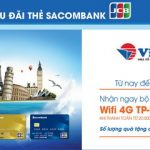 Nhận ngay bộ phát Wifi 4G TP-Link khi đặt tour Vietravel với thẻ Sacombank JCB