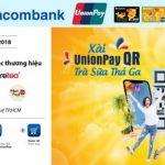 Xài UnionPay QR - Trà sữa thả ga cùng Sacombank
