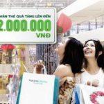 Chương trình ưu đãi dành cho chủ thẻ đồng thương hiệu Saigon Centre – Takashimaya - Vietcombank