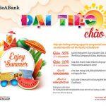 SeABank ưu đãi lớn cho chủ thẻ quốc tế nhân dịp hè 2018
