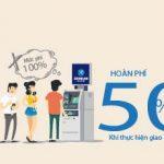 Hoàn 50% phí cho toàn bộ giao dịch ứng trước tiền mặt qua thẻ tín dụng Shinhan