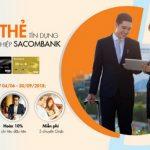 Mở thẻ tín dụng doanh nghiệp Sacombank - Nhận ưu đãi và đặc quyền toàn diện