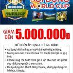 Sôi động World Cup cùng thẻ tín dụng Eximbank