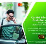 Cài thẻ liền tay, Grab đón ngay dành cho thẻ tín dụng Vietcombank Mastercard