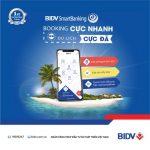 BIDV SmartBanking Booking cực nhanh - Du lịch cực đã