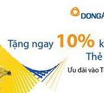 Giảm 10% cho ngành hàng thực phẩm và tiêu dùng tại Adayroi khi thanh toán với thẻ Visa DongA Bank