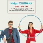 Shopping Battle 2018 cùng thẻ Eximbank tại Leflair.vn