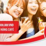 Hoàn tiền 50%, tới 300.000 đồng tại các chuỗi cửa hàng café bánh ngọt dành cho chủ thẻ quốc tế Maritime Bank Mastercard