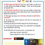 Thứ 6 vui vẻ - Mua sắm online tại Nguyễn Kim cùng Nam A Bank