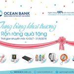 Tưng bừng khai trương, rộn ràng quà tặng cùng OceanBank Thái Phiên