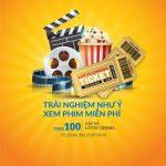 Đừng bỏ lỡ cơ hội xem phim miễn phí cùng thẻ PVcomBank Mastercard
