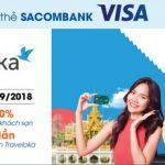 Traveloka giảm đến 20% và tặng 3 lần điểm thưởng cho chủ thẻ Sacombank Visa