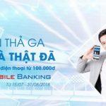 Nạp tiền thả ga - Nhận quà thật đã cùng SCB Mobile Banking