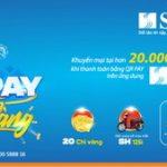 Trúng vàng và xe khi thanh toán qua QRPAY cùng SHB mobile