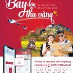 Hoàn ngay 200.000đ khi đặt vé máy bay trên ứng dụng Agribank E-Mobile Banking