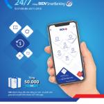 Ưu đãi chuyển tiền nhanh 24/7 trên BIDV SmartBanking