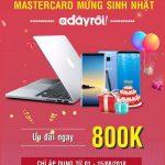 Eximbank MasterCard mừng sinh nhật Adayroi