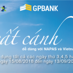 Cất cánh dễ dàng cùng thẻ GPBank