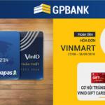 Mua sắm thỏa thích, gia tăng lợi ích cùng thẻ nội địa GPBank