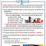 Thứ 6 vui vẻ - Mua sắm online tại Nguyễn Kim với Nam A Bank