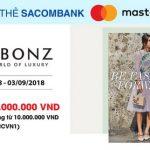 Reebonz giảm 1.000.000 VND hàng hiệu với thẻ Sacombank Mastercard