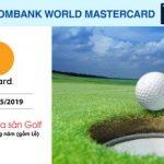 Giảm 60% phí ra sân Golf với thẻ Sacombank Mastercard