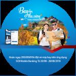 Bay đón thu vàng cùng SCB Mobile Banking