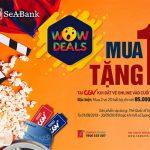 SeABank triển khai chương trình ưu đãi Wow Deals! Mua sắm bất tận