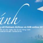 Cất cánh dễ dàng với Vietnam Airlines và SHB online