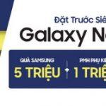 Ưu đãi khi đặt trước Samsung Galaxy Note 9 tại hệ thống CellphoneS cùng thẻ tín dụng Shinhan
