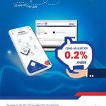Cộng tới 0,2% lãi suất khi gửi tiết kiệm online tại BIDV