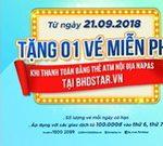 BHD Star Cinema tặng vé xem phim miễn phí dành cho khách hàng DongA Bank