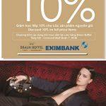 Ưu đãi 10% dành cho chủ thẻ Eximbank tại Braun Buffel