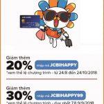 Ưu đãi dành cho thẻ Eximbank JCB tại Lazada.vn